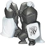 Knight Mascot Stress Balls